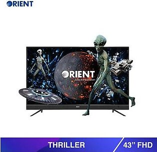 """Orient 43"""" 43S FHD Thriller LED TV Black (Official Warranty)"""