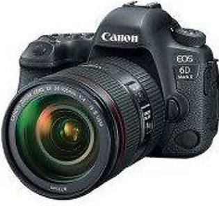 Canon EOS 6D Mark II DSLR Camera with 24-70mm L IS Lens - Official Warranty