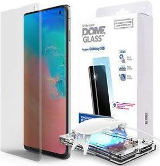 Whitestone Galaxy S10 Glass Tempered Glass Screen Protector with UV
