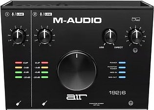 M-Audio AIR 192|6 - 2-In 2-Out USB Type-C MIDI Audio Interface