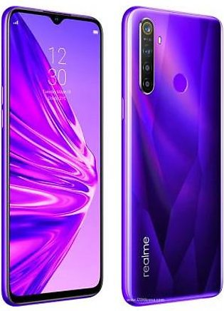 Realme 5 Dual Sim (4G, 4GB RAM, 64GB ROM,Purple) With 1 Year Official Warranty