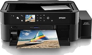 Epson L850 STD 6 COLOR PHOTO PRINT SCANNER COPY CD/DVD PRINTING A4 + SIZE (1 Ye…