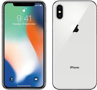 Apple iPhone X (4G, 256GB, Silver) PTA Approved