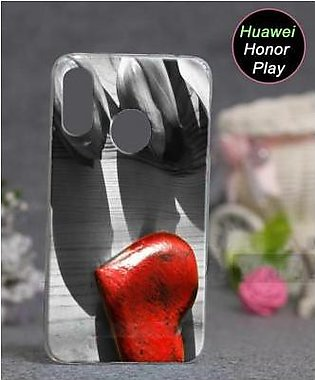 Huawei Honor Play Cover Case - Heart Cover (D2)