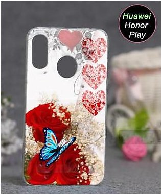 Huawei Honor Play Cover Case - Floral Cover (D13)
