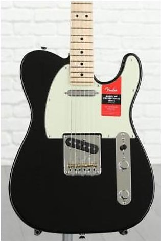 Fender American Professional Telecaster - Black w/ Maple Fingerboard