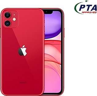Apple iPhone 11 (4G, 64GB ,Red) With Official Warranty