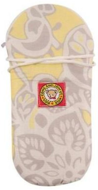 225ML Baby Feeder Cover Case Pouch - Newborn Infant - Yellow