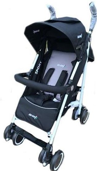 Sports Pram 4 Wheel - Multicolour