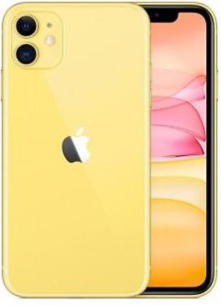 Apple iPhone 11 (4G, 128GB ,Yellow) Non-PTA