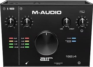 M-Audio AIR 192|4 - 2-In 2-Out USB Type-C Audio Interface