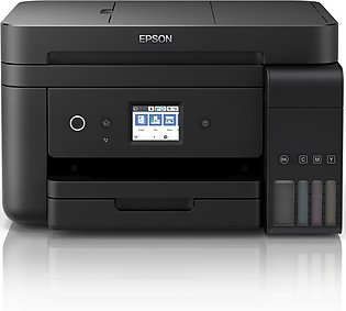 Epson L6190 Wi-Fi Duplex All-in-One Ink Tank Printer with ADF (1 Year Official …