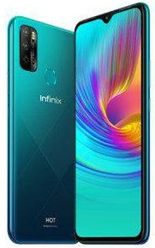 Infinix Hot 9 Play (4G 2GB 32GB Quetzal Cyan) With Official Warranty