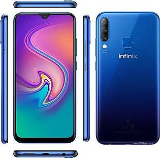 Infinix S4 (4G, 6GB RAM, 64GB ROM,Blue) With 1 Year Official Warranty