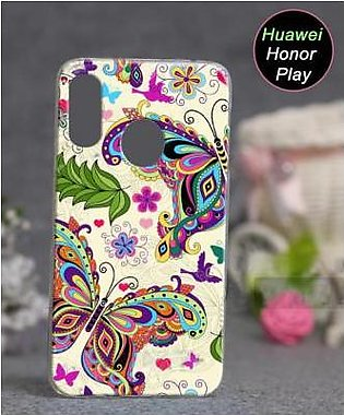 Huawei Honor Play Cover Case - Butterfly Cover (D3)