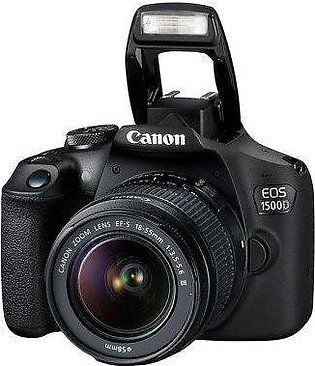Canon EOS 1500D DSLR Camera with 18-55mm IS II Lens