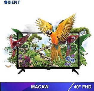 """Orient 40"""" 40 FHD Macaw LED TV Black (Official Warranty)"""