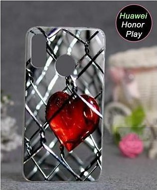 Huawei Honor Play Cover Case - Heart Cover (D1)