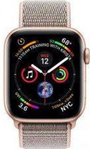 Apple Watch Series 4 MTUK2 40mm Gold Aluminum Case with Pink Sand Sport Loop ...