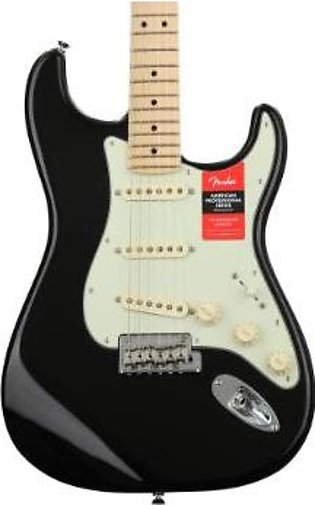 Fender American Professional Stratocaster - Black w/ Maple Fingerboard