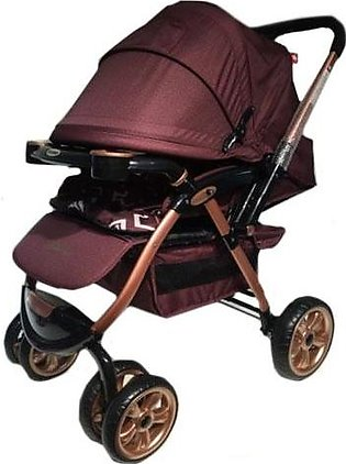 Baby Stroller - Dark Brown