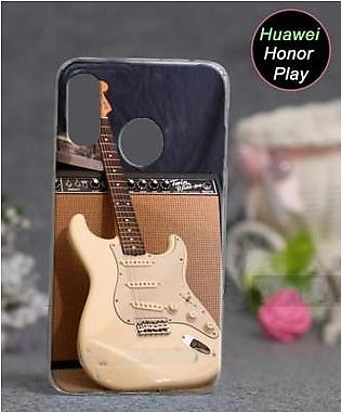 Huawei Honor Play Cover Case - Guitar Cover (D3)