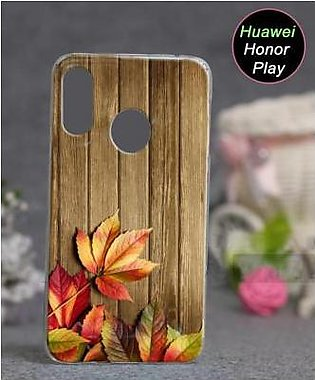 Huawei Honor Play Cover Case - Wood Cover