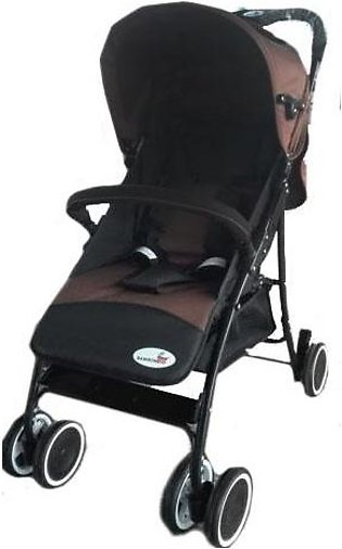Baby Stroller 4 Wheel - Brown