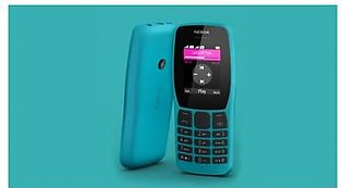 Nokia 110 2019 (Blue) With 1 Year Official Warranty