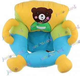 Bear Baby Chair Shape Floor Seat with Side Handles