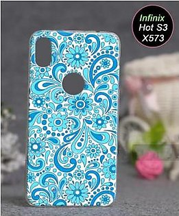 Infinix Hot S3 X573 Cover - Floral Cover (D20)