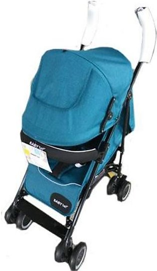 Baby Pram Buggy 4 Wheel Dim Blue