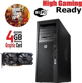 HP Z420 Gaming PC 8 Core E5-1650 8GB RAM 1TB Hard Drive WITH 4GB DDRR5 Graphics…