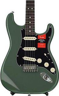 Fender American Professional Stratocaster - Antique Olive w/ Rosewood Fingerboard