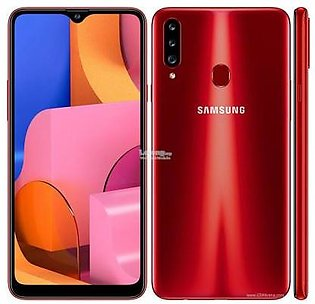 Samsung Galaxy A20s (4G, 3GB RAM, 32GB ROM,Red) with 1 Year Official Warranty