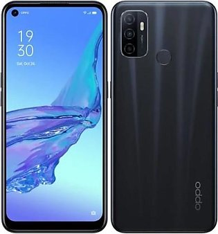 Oppo A53 (4G 4GB 64GB Electric Black) With Official Warranty
