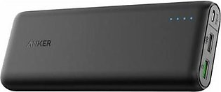 Anker Power Bank 20000 MAH Black QC (A1278H11)