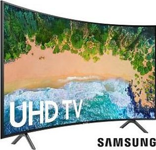 "Samsung 55"" 55NU7300 CURVED UHD SMART LED TV (1 Year Official Warranty)"