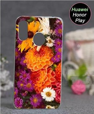 Huawei Honor Play Cover Case - Floral Cover (D15)