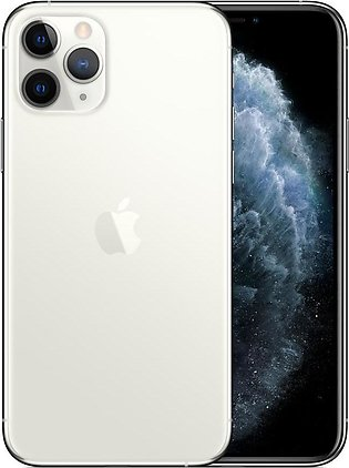 Apple iPhone 11 Pro (4G, 64GB ,Silver) With Official Warranty