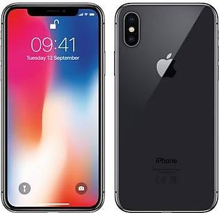 Apple iPhone X (4G, 64GB, Space Gray) American Used Stock - PTA Approved