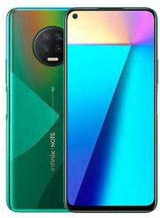 Infinix Note 7 Dual Sim (4G, 4GB, 64GB, Forest Green) With Official Warranty