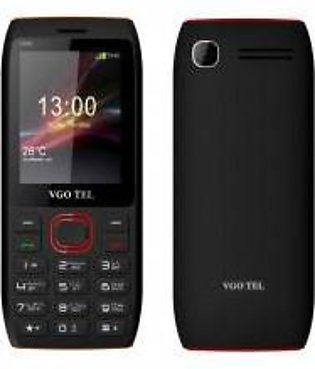 VGO TEL I550 Black Red with Official Warranty