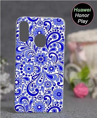 Huawei Honor Play Cover Case - Floral Cover (D3)
