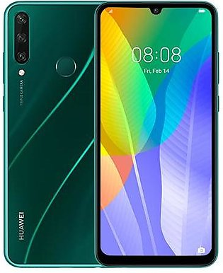 Huawei Y6p (4G, 3GB 64GB, Emerald Green) With Official Warranty