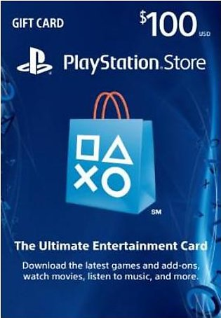 Sony Playstation Store Gift Card $100 - PS4/PS3/PS Vita (For USA Region)