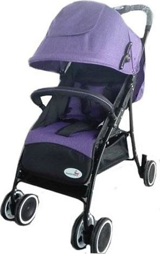 Baby Stroller 4 Wheel - Dark Purple