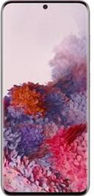 Samsung Galaxy S20 Dual Sim (4G, 8GB, 128GB, Cloud Pink) With Official Warran...