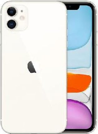 Apple iPhone 11 Dual Sim (4G, 64GB ,White) Non-PTA