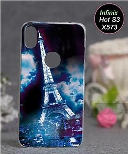 Infinix Hot S3 X573 Cover - Eiffal Tower Cover (D3)